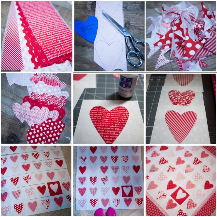hearts 9 square